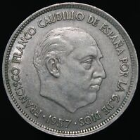 1957 (58) | Spain 25 Pesetas | Cupro-Nickel | Coins | KM Coins