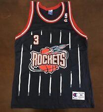 6aec66d9cb6b Rare Vintage Champion NBA Houston Rockets Steve Francis Basketball Jersey