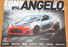 2014 Tony Angelo Scion Racing FR-S Formula Drift postcard