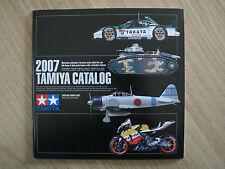 New Tamiya 2007 Catalog Guide Book Rare # 64337 ( English / Spanish Version)