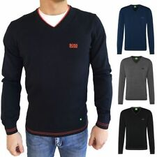 Unifarbene HUGO BOSS Herren-Pullover & -Strickware in normaler Größe
