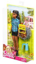 Mattel-Barbie feu de camp Set Poupée (blünett), poupée, Cadeau, Neuf, fdb45