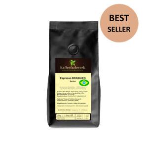 Kaffeefachwerk Espresso Brasilien für Vollautomaten und Siebträger ♥ 150+ Sales