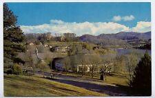 LAKE JUNALUSKA NC Southern Methodist Assembly Grounds nr Asheville postcard