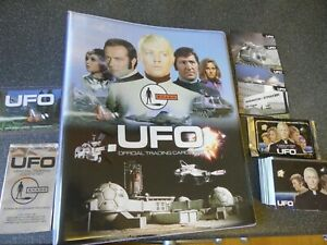 GERRY ANDERSON  UFO TRADING CARD BUNDLE UNSTOPPABLE/CARDS INC WITH BINDER!
