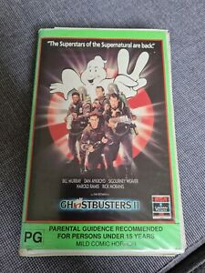 Ghostbusters 2 vhs