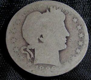 1896-O 25C Barber Quarter Silver