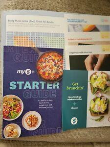Weight Watchers My WW 2021 Starter Guide/4 Recipe Cards/BMI Chart