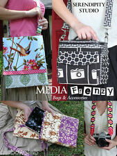 Media Frenzy Bags Serendipity Studio Sewing Pattern for Camera Wallet eReader +