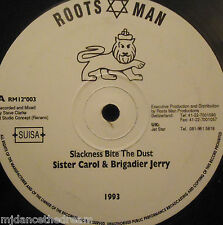 "SISTER CAROL & BRIGADIER JERRY - Slackness Bite The Dust ~ 12"" Single"