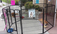 Heavy Duty Exercise Pens Playpen Indoor Sturdy Extra Large 40 In Outdoor Big Pet