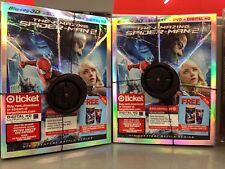 Rare Target Exclusive Amazing Spider-man 2 3D Blu-ray DVD 4-Disc Set Bonus Disc