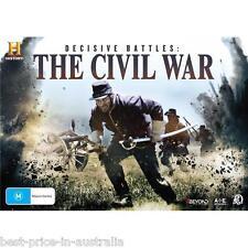Decisive Battles: The CIVIL WAR DVD TV HISTORY U.S. WAR Gettysburg BRAND NEW R4