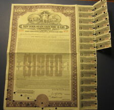 Old Vintage 1954 - NEW YORK STATE ELECTRIC & GAS CORP. - BOND Certificate