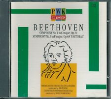 Beethoven Symphony 1 and 6 Pastoral CD music album excellent condition