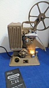 Vintage Keystone 8 mm R-8 Projector Movie Film UNTESTED AS IS FOR REPAIR