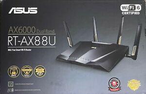 Asus RT-AX88U AX6000 Dual-band Wi-Fi 6 Gaming Router - New!