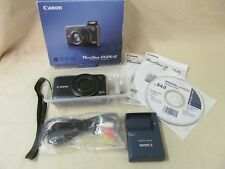 Pre-Owned Canon PowerShot SX210 IS 14.1MP Digital Camera - Black