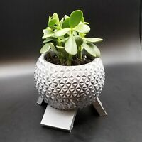 Disney World Epcot Spaceship Earth Inspired Planter - Garden Disney Decor Size C