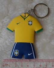kiTki Brazil world cup nation football soccer sponge keychain key chain ring