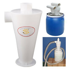 Aspiradora Colector de polvo con filtro de polvo ciclón Blanco para Limpiar