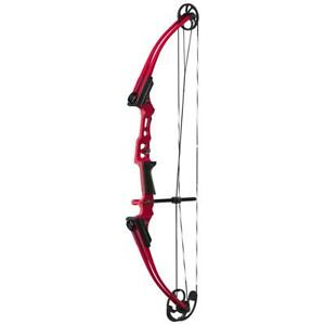 Genesis Mini Youth Compound Bow Right Hand Red