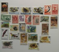 500 Different Swaziland Stamp Collection