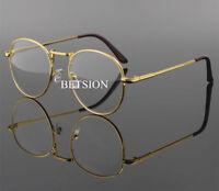 Retro Fashion NEARSIGHTED Distance Metal Eyeglass Frame Myopia Minus GLASSES