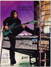 Yamaha Basses - Six String - RBX6JM - John Myung  (1999) Print Advertisement