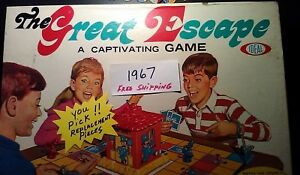 Great Escape Game 1967 Vintage Replacement Pieces Parts Lots Ideal Toy Company