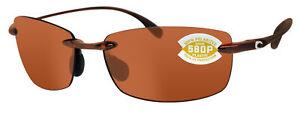 Costa Del Mar Ballast Tortoise copper 580 Plastic Polarized Lens 580P