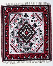 Classic Authentic Mexico Accent Throw Native Style Blanket 4'x5' Southwest Lodge