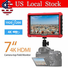 "LILLIPUT A7S 7"" Camera Monitor 1920x1200 DSLR Mirrorless w/ F970 Battery Plate"