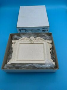 DOLLS' HOUSE ITEM - SUE COOK GEORGIAN PLASTER OVERMANTEL - OM2 - boxed