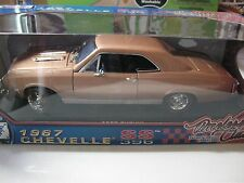 1:18 SCALE MOTORMAX 1967 CHEVY CHEVELLE SS 396 TIMELESS CLASSICS LIGHT COPPER