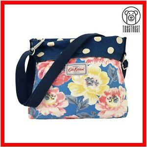 Cath Kidston Folded Mini Reversible Messenger Bag Cross Body Cotton Floral 2Z