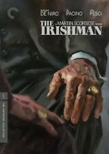 The Irishman Criterion Collection (robert De Niro ) DVD in Stock Now Reg 4