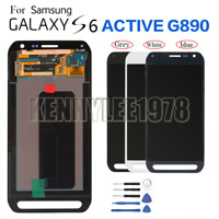 Vitre tactile et écran LCD assemblés pour Samsung Galaxy S6 Active G890 G890A