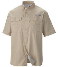 NWT Columbia Men's PFG Blood and Guts III Shirt Medium Omni-Shade UPF 50 Woven