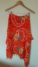 Ladies Orange Shawl/ Scarf Utopika <Cx3590