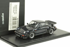 1988 Porsche 911 930 Turbo 3.3 openable bonnet rear lid blau metall 1:43 Kyosho