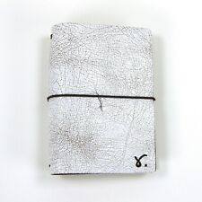 Sojourner Travelers Notebook A6 Size Lily Of The Valley Leather Brown Elastics