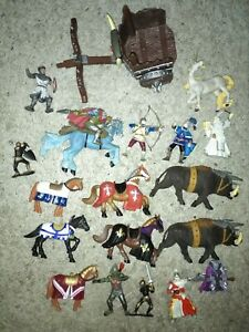 Medieval knight bundle papo elc other makers chariot unicorn