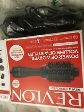 Revlon Pro Collection Salon One-Step Hair Dryer and Volumizer  open box
