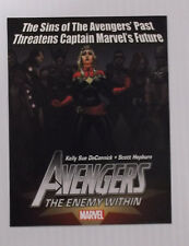 Marvel Avengers The Enemy Within 2013 Promotional Comic Book Card New