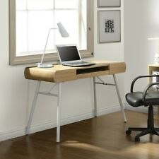 Techni Mobili Semi-Assembled Contemporary Computer Desk in Pine