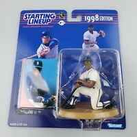 New Ken Griffey Jr 1998 Edition Starting Lineup Action Figure & Card Kenner