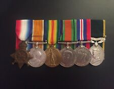 More details for ww1 and ww2 medal group - gallipoli 1/6th (glasgow) hli and acc territorial