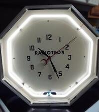"""NEW 8 Sided Hex White Neon Tube for Neon Products Clock NPI Interior 15"""" Diam"""