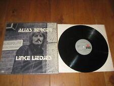 Alias Berger LP. Linke liedjes.(4680)